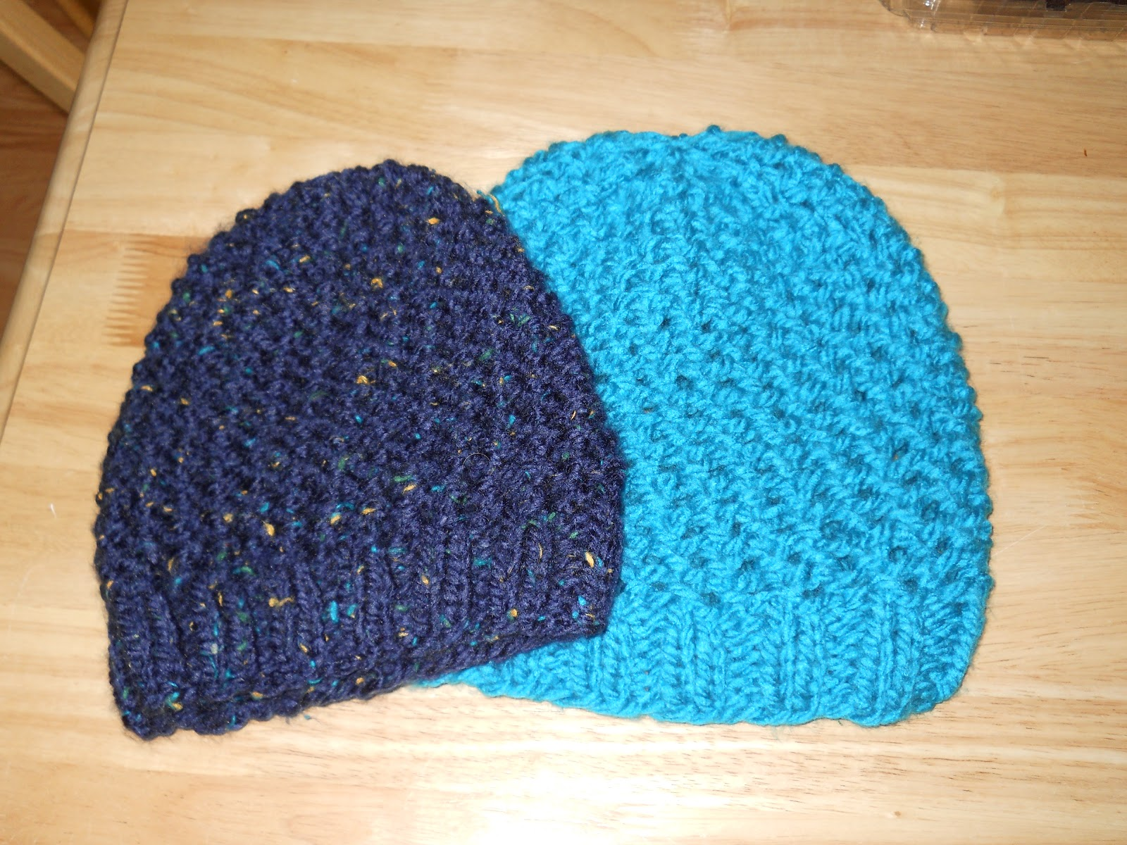 Knitted Chemo Cap Patterns Free : Knitting with Schnapps: Crossed Comfort Cap