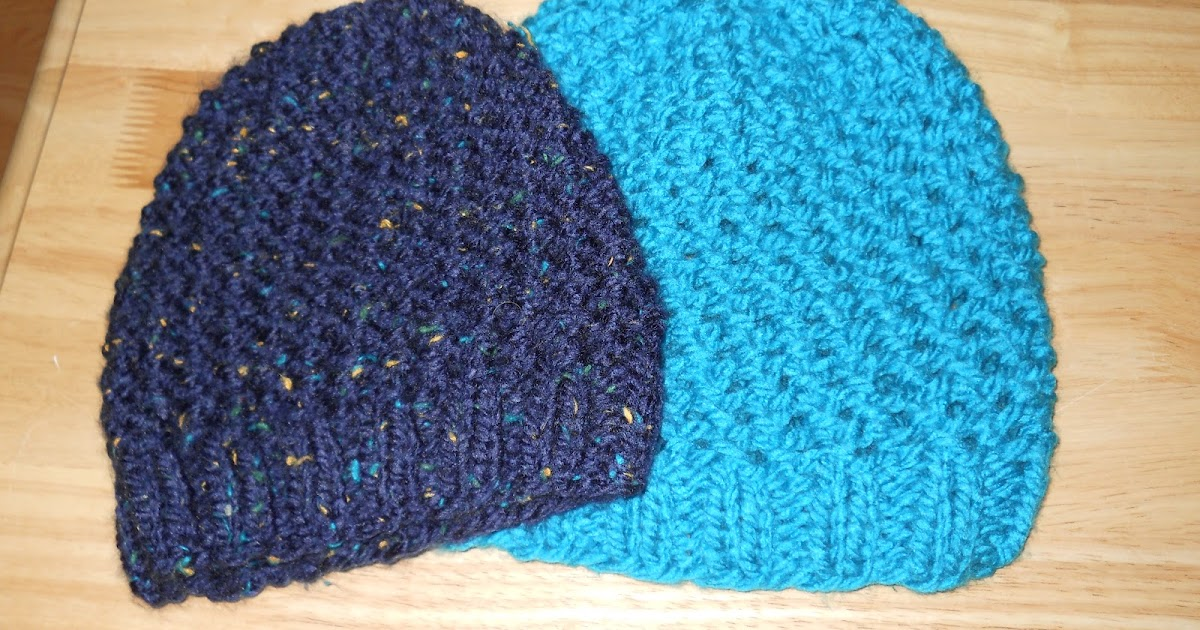 Knitting With Schnapps Crossed Comfort Cap
