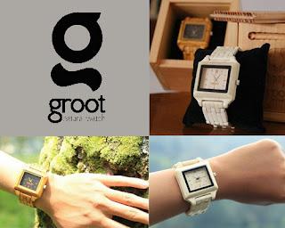 Groot Watch, Jam Tangan Kayu dan Jam Tangan Tulang Buatan Bandung