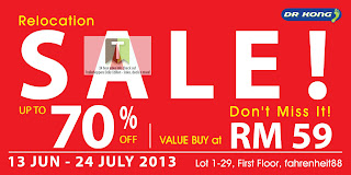 Dr Kong Relocation Sale 2013