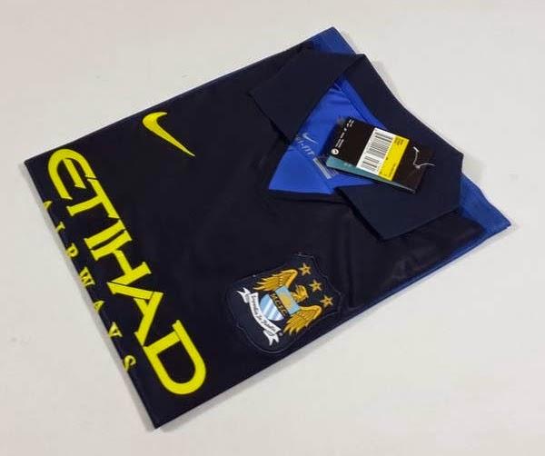 New Manchester city jersey 2015 jersey Manchester city 14 15 Home away black Jersey goalkeeper Soccer jerseys KUN AGUERO SILVA