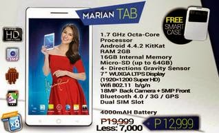 SKK Mobile Marian Tab Made More Affordable, Now Only For Php12,999