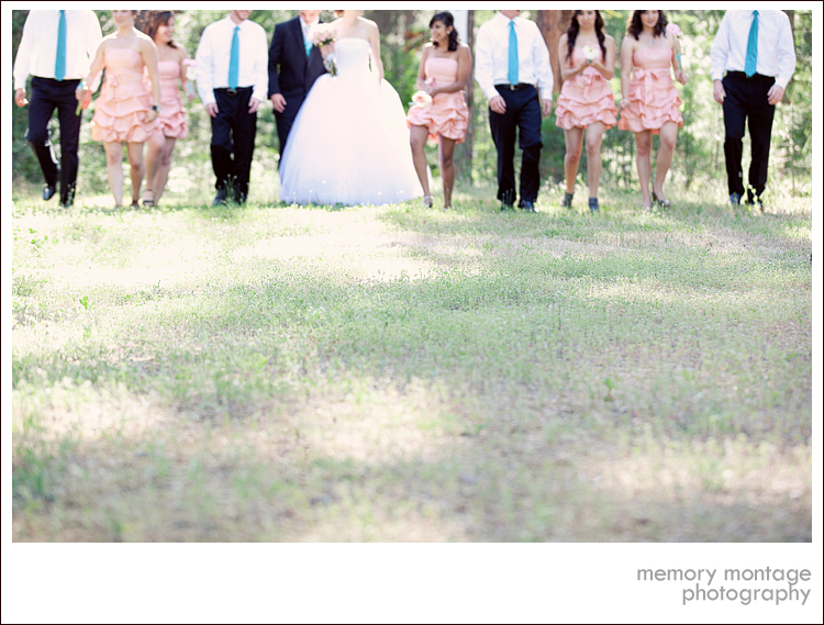 Here 39s a sneak peek of their light pink turquoise wedding