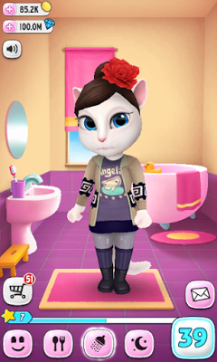 My Talking Angela v1.7.1 MOD APK+DATA (Unlimited Money)