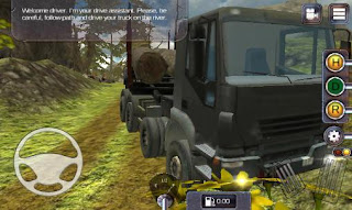 Screenshots of the Truck simulator: Offroad for Android tablet, phone.