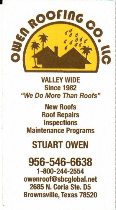 OWEN ROOFING