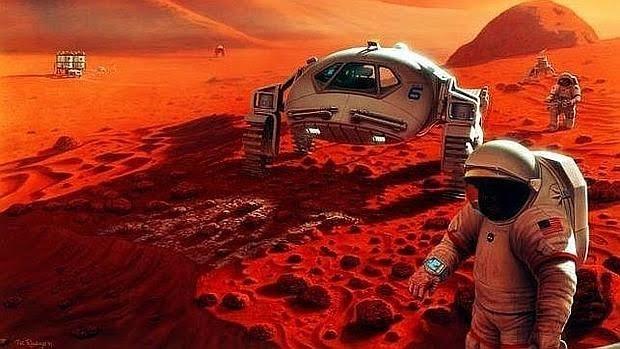 Es posible viajar a Marte en pocos días.