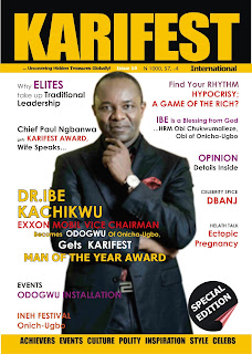 KARIFEST INTERNATIONAL MAGAZINE