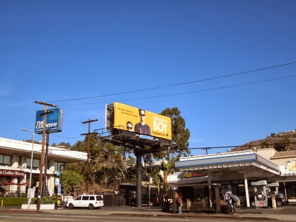 About a Boy TV billboard