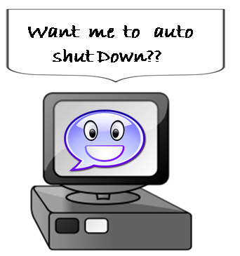 auto shut down pc