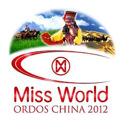 Miss World 2012 Official Logo