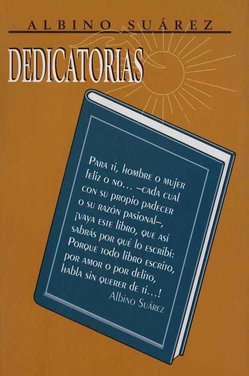Albino Suárez libro Dedicatorias