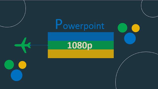 Tutorial Setting PowerPoint menjadi lebih luas dan HD