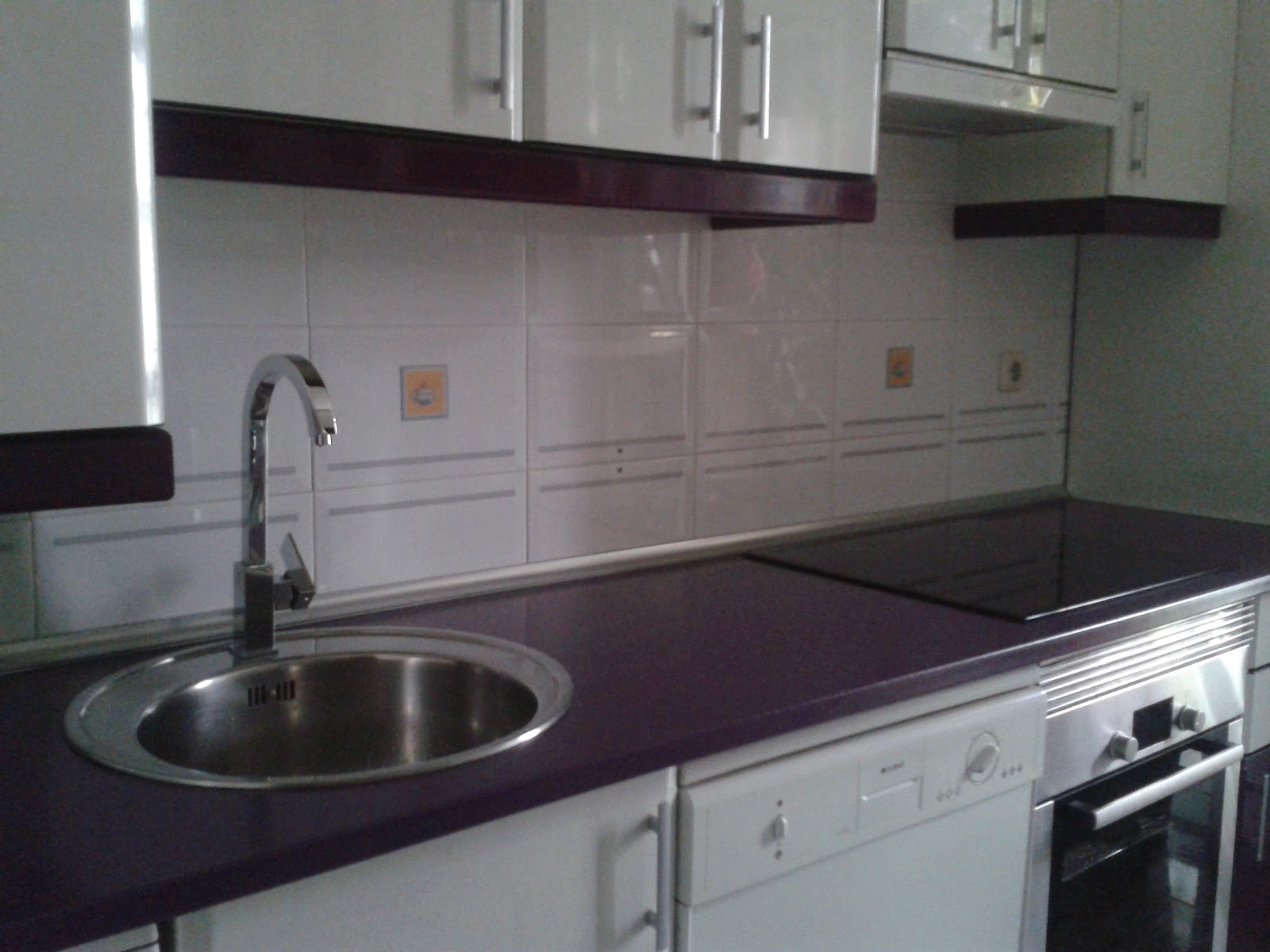 Arreglo cocina formica brillo remates y encimera - Remates encimeras cocinas ...