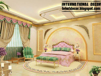 royal bedrooms with luxury curtains 2015 , luxury bedroom furniture ideas 2015