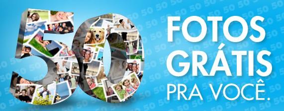 Brinde Gratis Revelação Digital  50 Fotos
