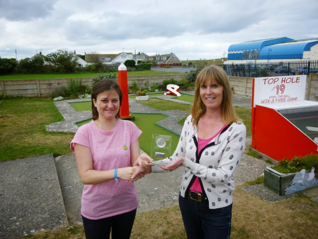 'The Butler Cup' Holiday On The Buses Crazy Golf Tournament in Prestatyn