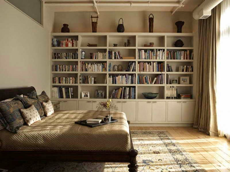 Bedroom Wall Shelves Ideas