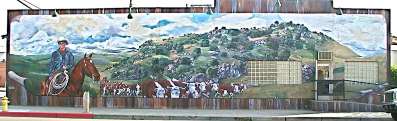 Gill Cattle Drive, Exeter Meats, Exeter, CA, 1997