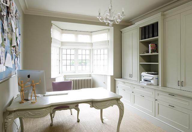 Azul blue oficinas en el hogar - Decoracion despacho en casa ...