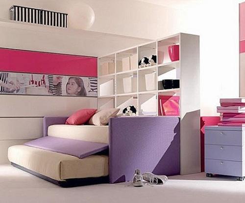 Mcompany style m deco 7 ideas para la habitaci n de dos - Cama nido nina ...