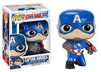 GameStop: Action Pose Captain America Pop!