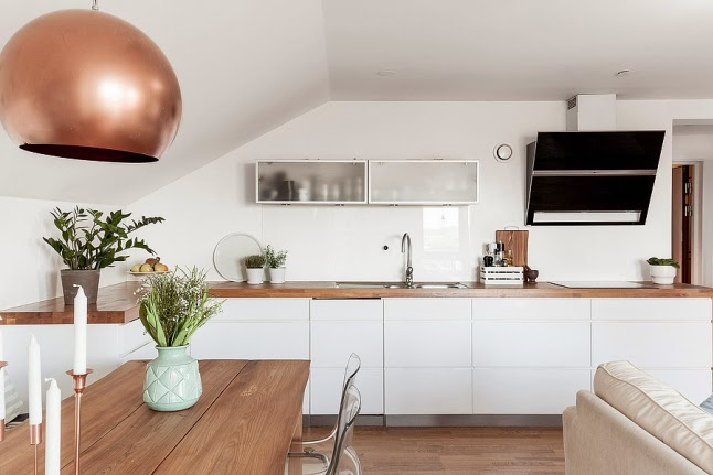 cuidados para la encimera de madera de la cocina