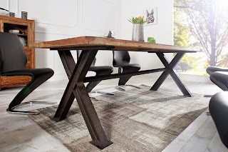 jedalenske stoly reaction, dizajnovy nabytok z masivu