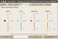 Colour Correction Values