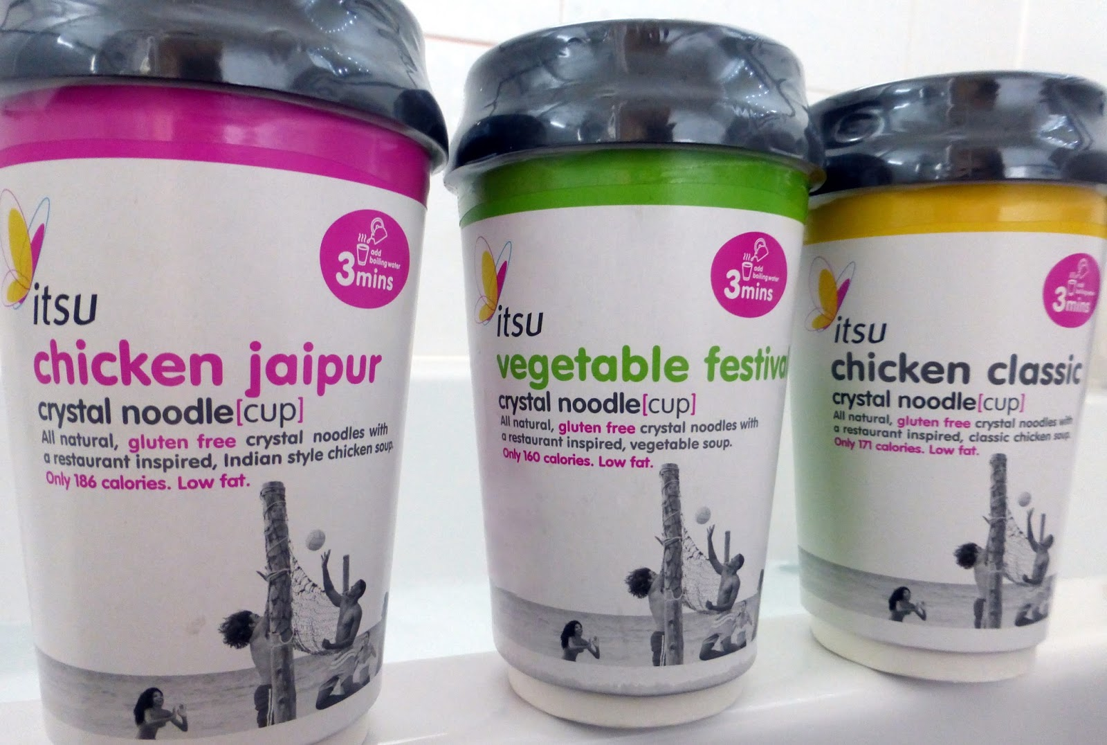 Itsu's New Crystal Noodle Cups