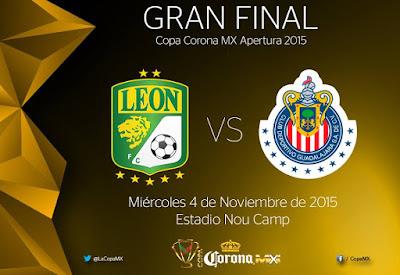 Lista Final Copa MX Apertura 2015