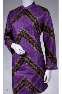 Batik Kasato 502 - Ungu (Toko Jilbab dan Busana Muslimah Terbaru)
