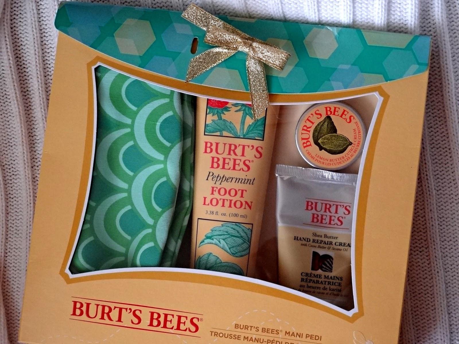 burt's bees mani pedi kit