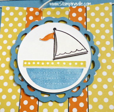Sailboat Image - Moving Forward Stamp Set