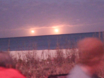Huge UFO's Caught Above Florida Beach 2015, UFO Sighting News