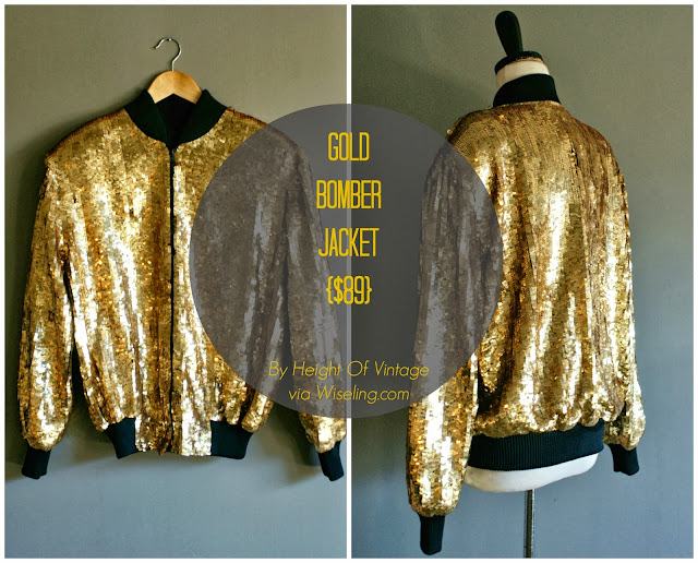sequin, bomber jacket, sequin jacket, wiseling, vintage jacket