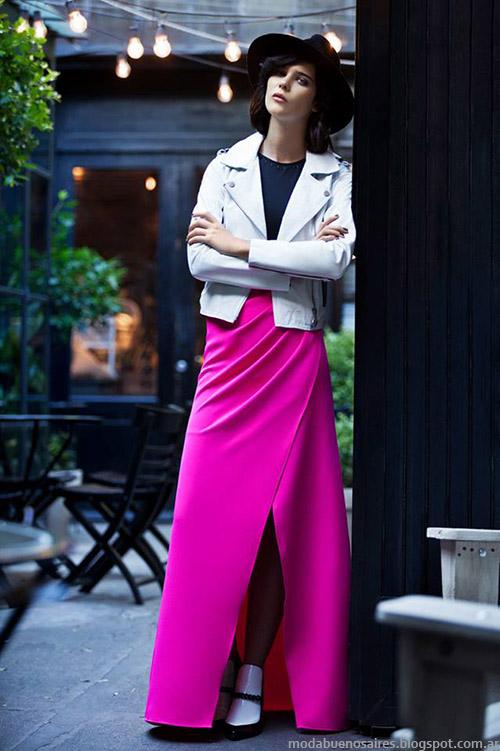 Otoño invierno 2015 Colección Uma. Faldas de moda invierno 2015 Uma.