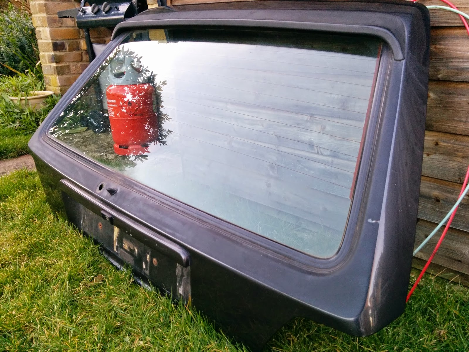 Atlas Grey Replacement Tailgate MK2 Golf GTI
