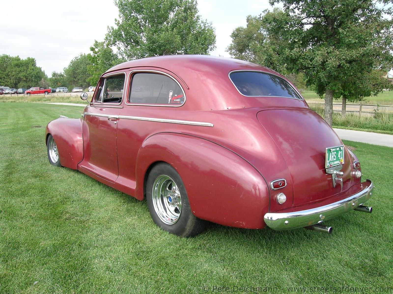 Streets of denver 1941 chevy 2 door sedan for 1941 chevrolet 2 door sedan
