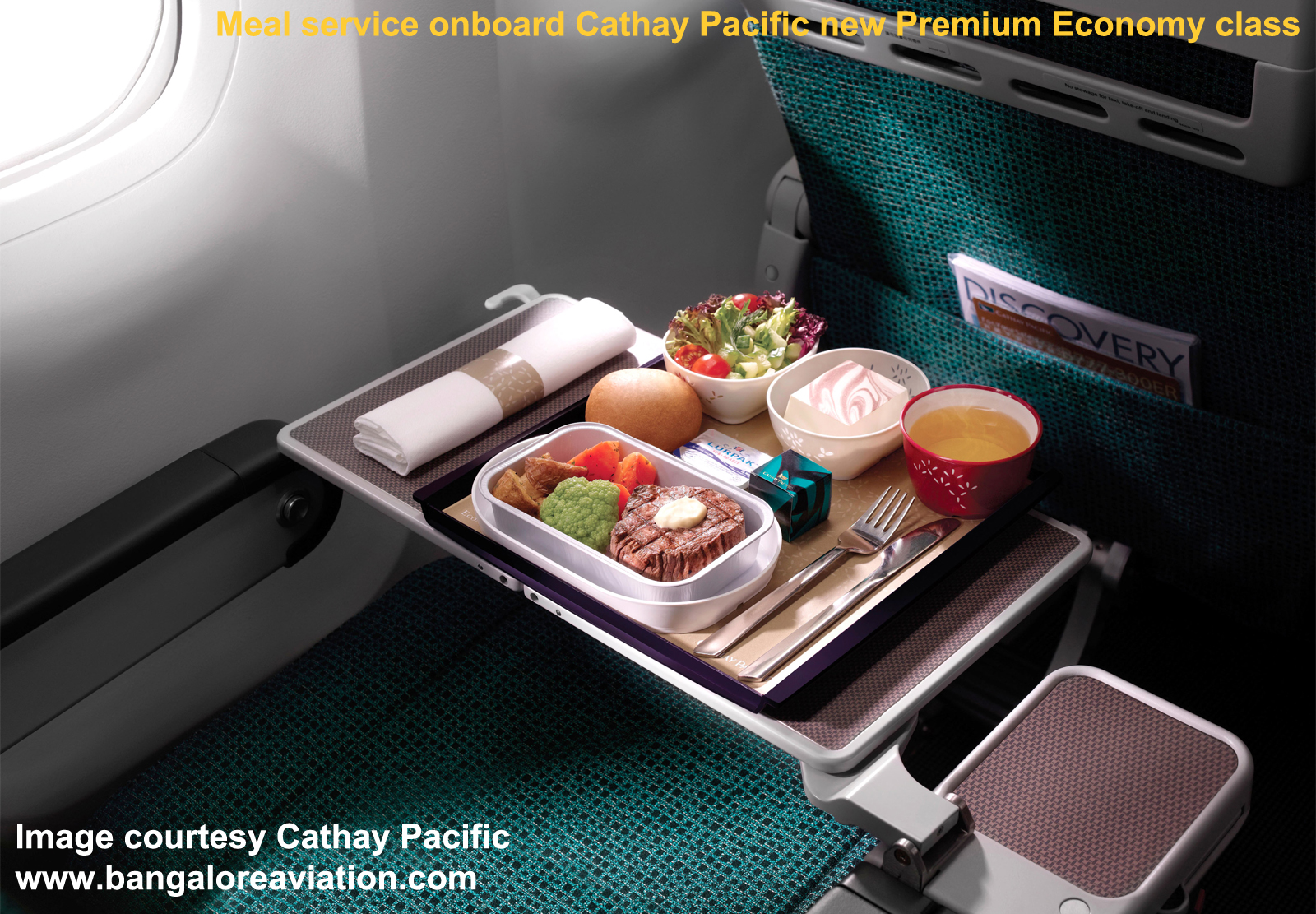 Cathay Pacific New Premium Economy Class Cabin on Boeing 777-300ER and Airbus A330