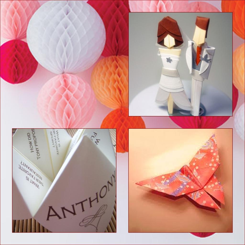 Decoracion Origami Matrimonio ~ Como pod?is ver puede llegar a ser una decoraci?n muy completa