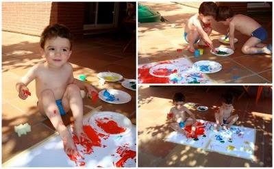 manualitat infantil pintem