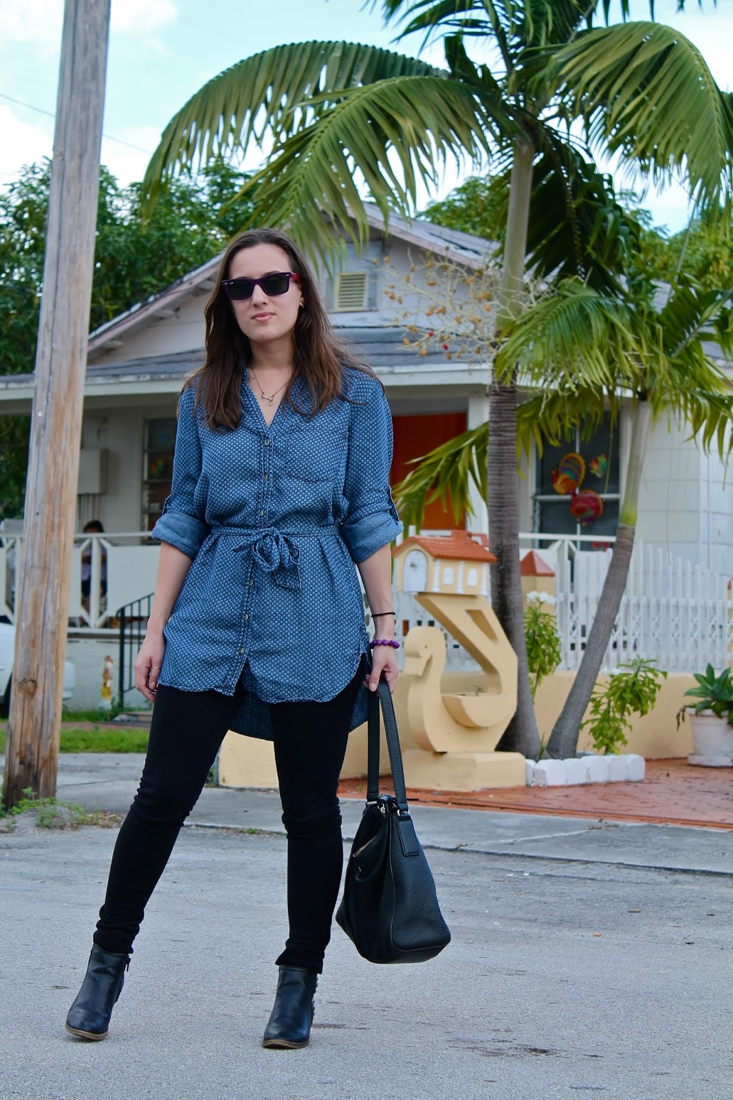 Ralph Lauren, target, Anthropologie, Kate Spade, Ray-Ban, fashion blogger, style blog, Miami fashion blogger, Miami style, fall fashion, chambray, ootd, outfit ideas, what to wear