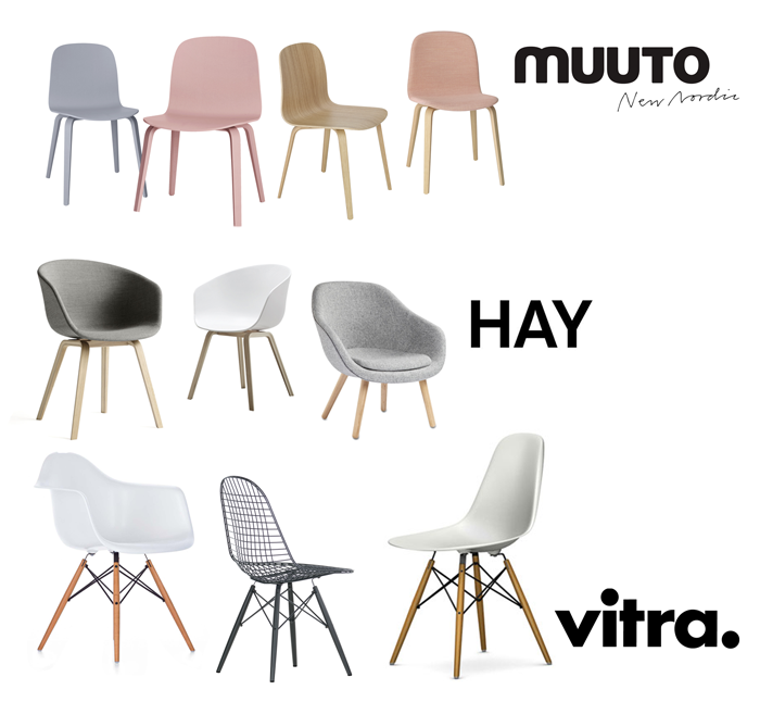 Dining Chairs Roundtable Hay Vitra Muuto Only Deco Love