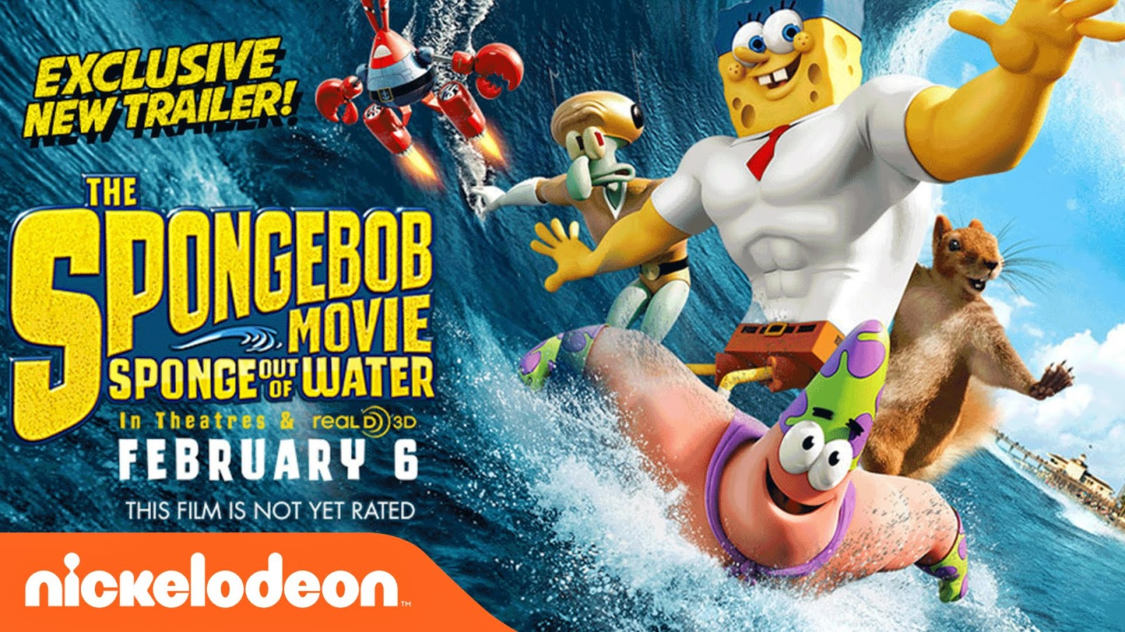 The SpongeBob Movie Sponge Out of Water (2015) HDCAM