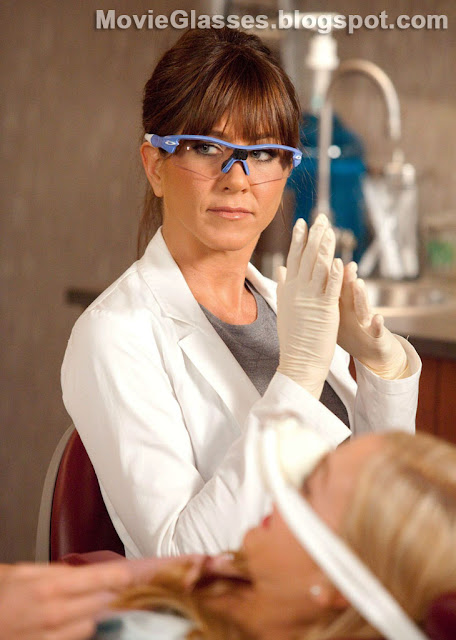 Jennifer Aniston in Horrible Bosses wearing Custom Oakley Radar Glasses