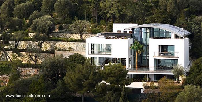 Arquitectura de casas moderna villa vacacional en la for Villas francesas