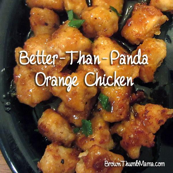 Panda express copy-cat orange chicken recipe