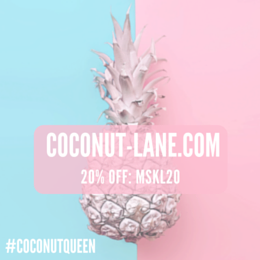Get 20% off at Coconut Lane!