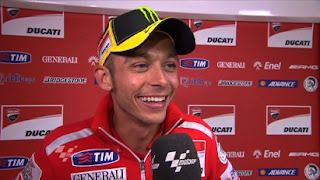 Valentino Rossi and Nicky Hayden start well in Portugal